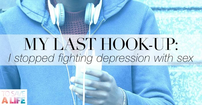 What is it like hookup someone with depression